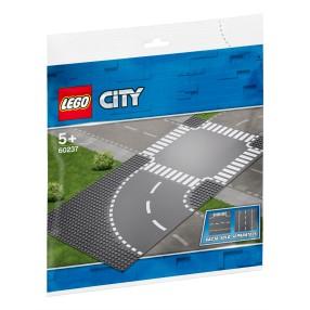 LEGO City - Zakręt i skrzyżowanie 60237