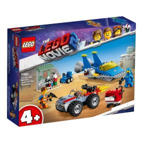 LEGO Movie - Warsztat Emmeta i Benka 70821