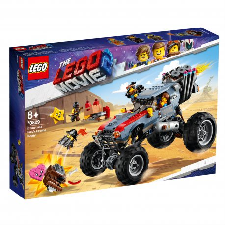 LEGO Movie - Łazik Emmeta i Lucy 70829