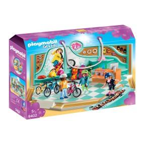 Playmobil - Sklep rowerowy i skateboardowy 9402