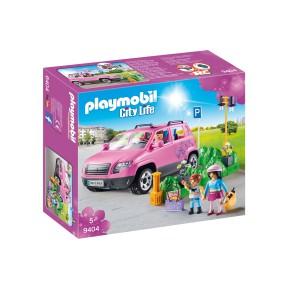 Playmobil - Samochód rodzinny z zatoczką parkingową 9404
