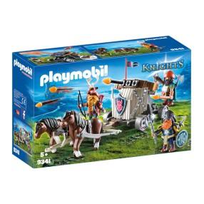 Playmobil - Zaprzęg kucyków z balistą krasnoludów 9341