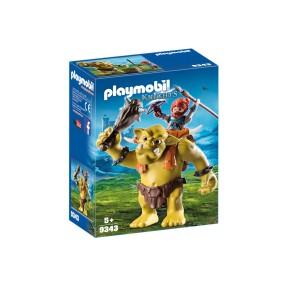Playmobil - Olbrzymi troll z nosidłem dla krasnoluda 9343