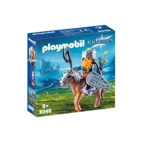 Playmobil - Krasnolud z wojowniczym kucykiem 9345