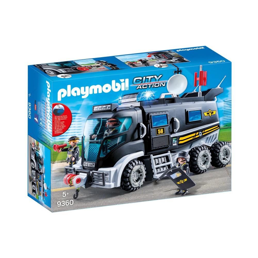 Playmobil - Pojazd jednostki specjalnej ze światłem i dźwiękiem 9360