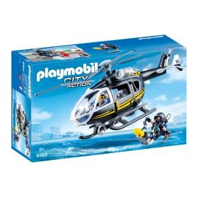 Playmobil - Helikopter jednostki specjalnej 9363