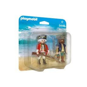 Playmobil - Duo Pack Pirat i żołnierz 9446