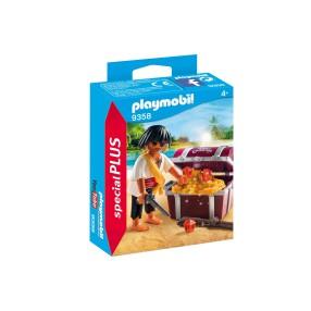 Playmobil - Pirat ze skrzynią skarbów 9358