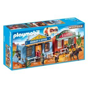 Playmobil - Przenośne Miasteczko Westernowe 70012
