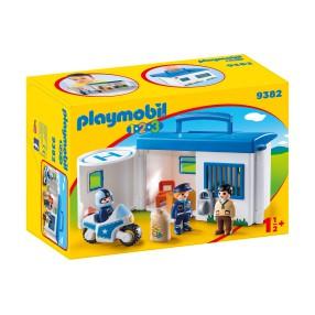 Playmobil - Przenośny komisariat policji 9382