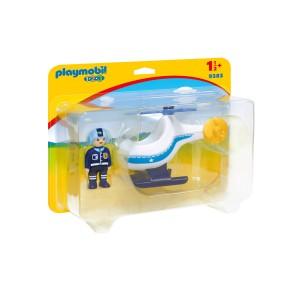 Playmobil - Helikopter policyjny 9383