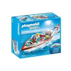 Playmobil - Motorówka z silnikiem podwodnym 9428