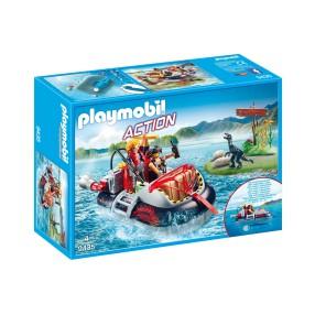 Playmobil - Poduszkowiec z silnikiem podwodnym 9435