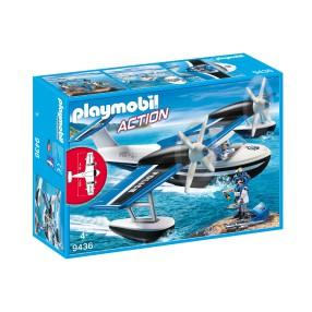 Playmobil - Policyjny samolot wodny 9436