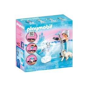 Playmobil - Księżniczka Zimowy kwiat 9353