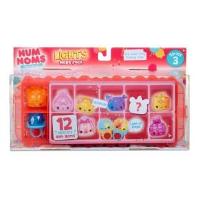 Num Noms - Mega Pack 12 szt. Lights Mystery Świecące Seria 3 550563