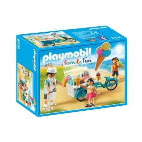 Playmobil - Rower z wózkiem z lodami 9426