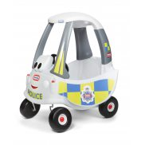 Little Tikes - Samochód COZY COUPE Patrol Policji Radiowóz 173790