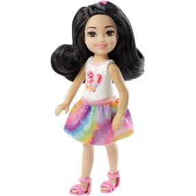 Barbie - Club Chelsea Lalka z motywem kotka i lodem FXG77
