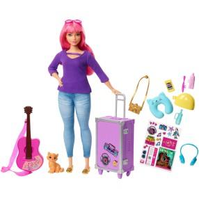 Barbie Dreamhouse Adventures - Lalka Daisy w podróży z kotkiem FWV26