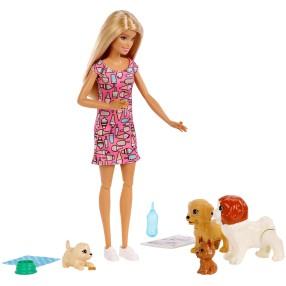 Barbie - Lalka Opiekunka piesków Zestaw FXH08