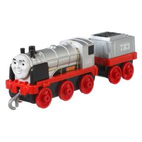 Fisher-Price Tomek i Przyjaciele Track Master - Duża metalowa lokomotywka Merlin FXX26