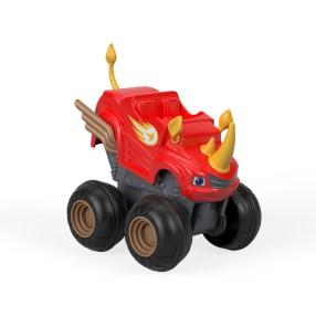 Fisher-Price Blaze - Pojazdy Naciśnij i jedź Blaze Rhino FHV04