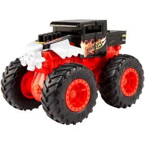 Hot Wheels Monster Truck Bash Ups - Pojazd z kraksą Bone Shaker GCF95
