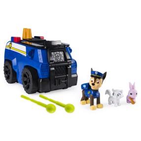 Psi Patrol - Transformujący pojazd policyjny z figurką Chase 2w1 20107844