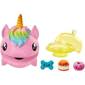 Mattel Pooparoos - Figurka Jednorożca + Akcesoria Różowy GFW05