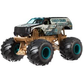 Hot Wheels Monster Truck - Metalowy Pojazd Cyber Crush Skala 1:24 GCX17