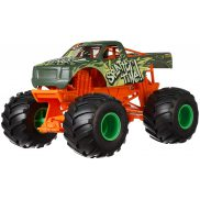 Hot Wheels Monster Truck - Metalowy Pojazd Splatter Time! Skala 1:24 GCX22