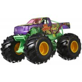 Hot Wheels Monster Truck - Metalowy Pojazd Test Subject Skala 1:24 GBV38