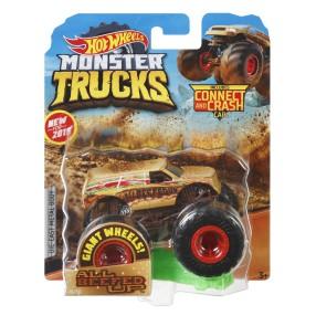 Hot Wheels Monster Truck - Metalowy pojazd All Beefed Up GBT59