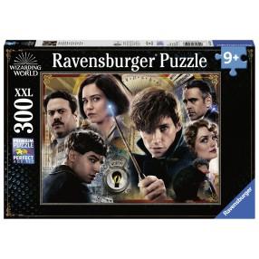 Ravensburger - Puzzle XXL Harry Potter Fantastyczne Zwierzęta Zbrodnie Grindelwalda 300 elem. 132546