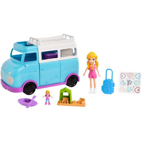 Polly Pocket - Biwakowy Kamper FTP74