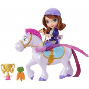 Mattel Disney Jej wysokość Zosia - Podniebna podróż Zosi i Minimusa CKH35