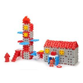 Little Tikes - Klocki Waffle - Zestaw Straż Pożarna 643149