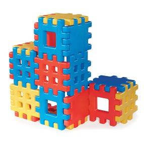 Little Tikes - Klocki Waffle - Zestaw Ogromnych Klocków 18 elementów 642173