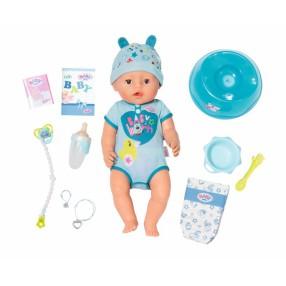 BABY born - Lalka interaktywna Soft Touch Chłopiec 43 cm 824375