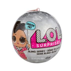 L.O.L. SURPRISE - Laleczka LOL w kuli Bling Niespodzianka 557074