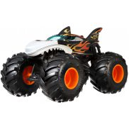 Hot Wheels Monster Truck - Metalowy Pojazd Shark Wreak Skala 1:24 GCX13