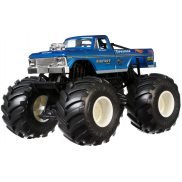 Hot Wheels Monster Truck - Metalowy Pojazd Bigfoot 4x4x4 Skala 1:24 GBV32