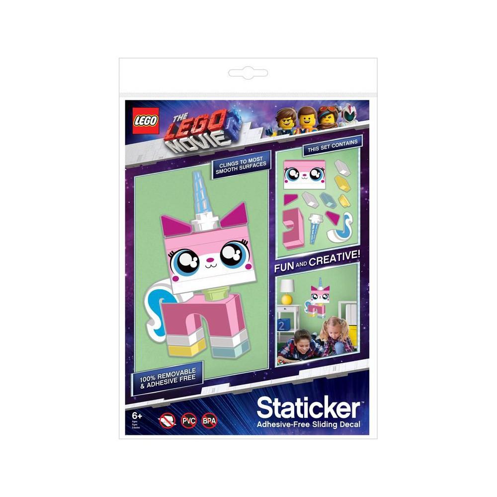 LEGO Movie 2 - Staticker Unikitty Ruchoma układanka na ścianę lub szybę 52364