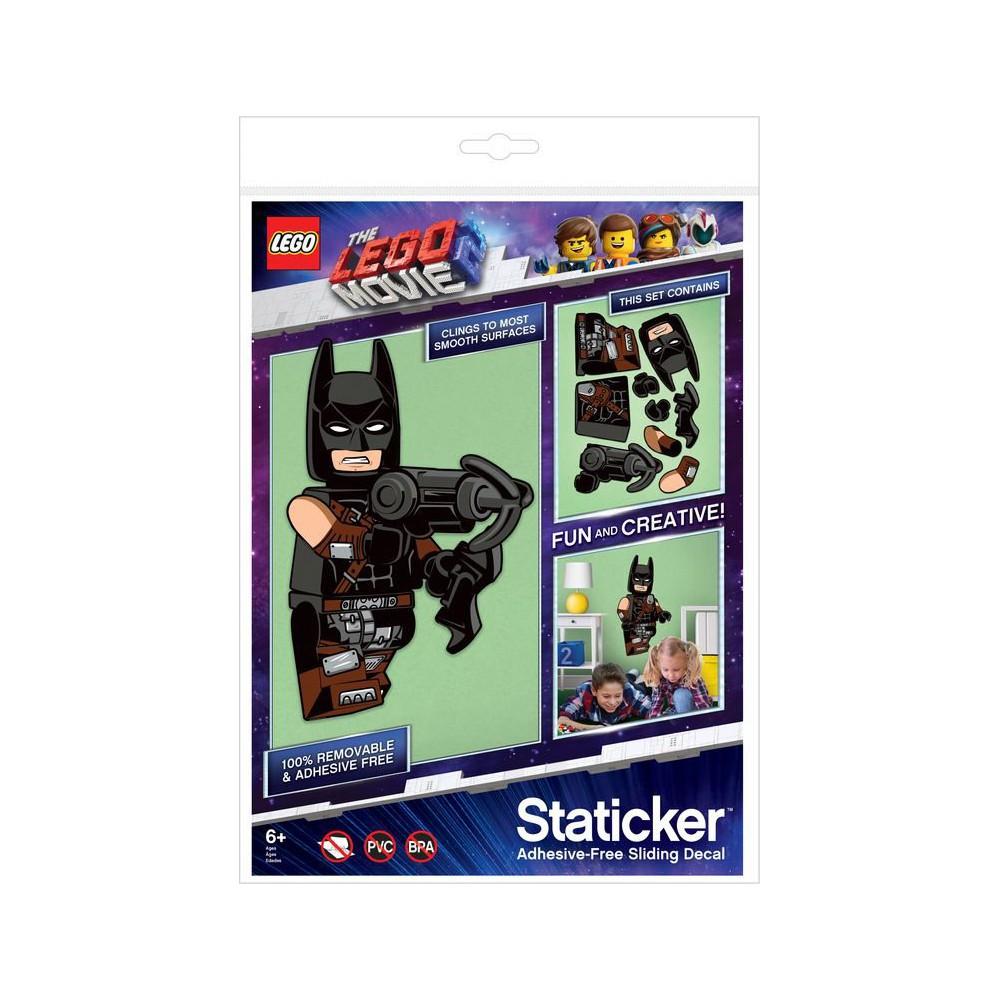 LEGO Movie 2 - Staticker Batman Ruchoma układanka na ścianę lub szybę 52372