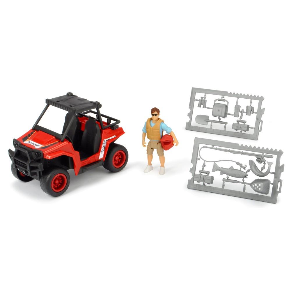 Dickie Play Life - Zestaw Wyprawa quadem Pojazd Quad + Akcesoria 3833005