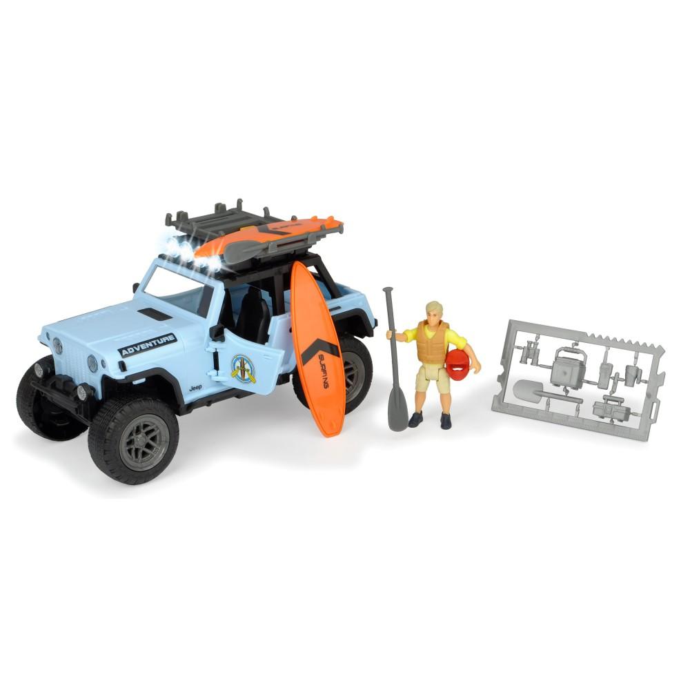 Dickie Play Life - Zestaw Czas na surfing Samochód Jeep + Akcesoria 3834001