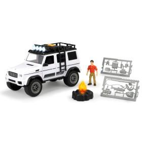 Dickie Play Life - Zestaw Podróżnika Samochód Mercedes-Benz + Akcesoria 3835002