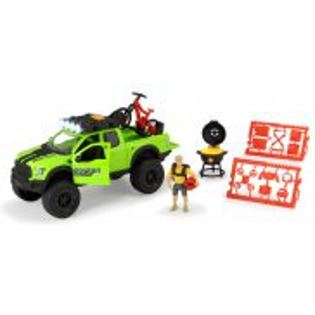 Dickie Play Life - Zestaw Kolarstwo górskie Samochód Ford Raptor + Akcesoria 3835003