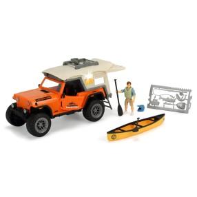Dickie Play Life - Zestaw Prawdziwy Camping Samochód Jeep + Akcesoria 3835004